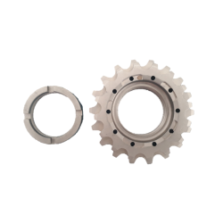 2 fixed sprockets screwed 16 and 18 teeth fixie bike