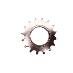 Fixed screwed sprocket 16 teeth chromed for fixie bike