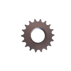 Fixed screwed sprocket 18 teeth