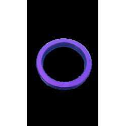 """Cale jeu de direction vélo aluminium 1""""1/8 5 mm violet"""