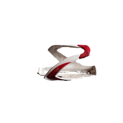 Elite bottle cage customer race white & red
