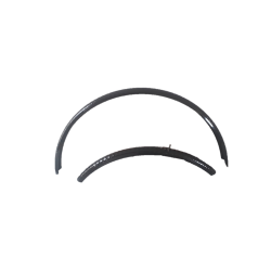 Gravel, fixie, bike mud guards BLB Classic Hammered fender