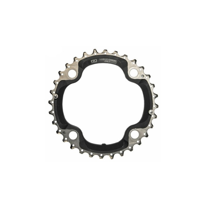 Shimano XT plateau 32 dents 104 mm 9 vitesses
