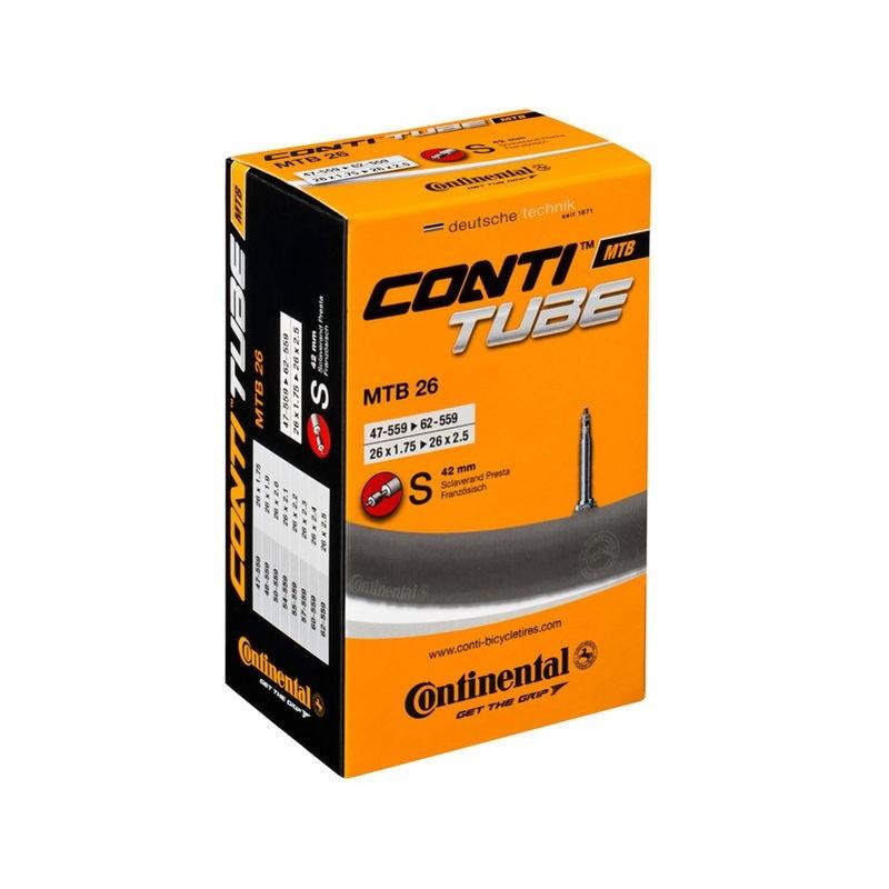chambre a aire velo continental Conti tube 26x1.75/2.5