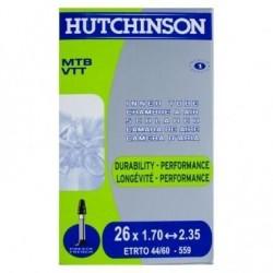 chambre a aire vtt Hutchinson 26x1.7/2.35 valve presta