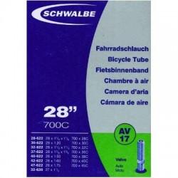 Air tube Schwalbe 700x28C/45C schrader AV17