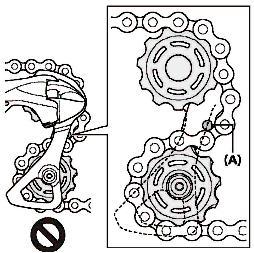 montage dérailleur arrière shimano ultegra 11v