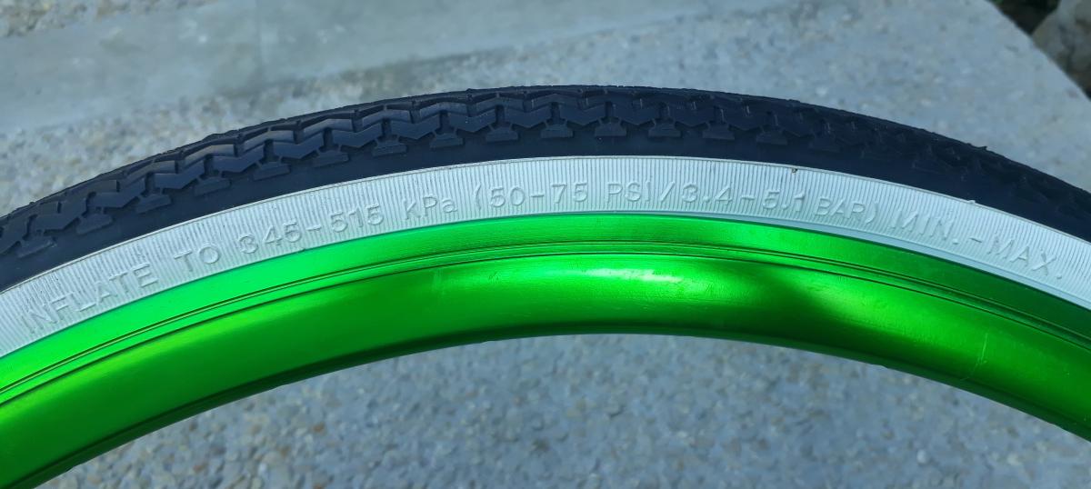 pression pneu velo
